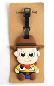 """Toy Story Woody Luggage Tag 4"""" US Seller"""