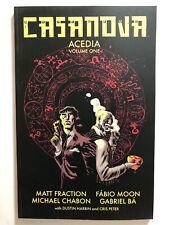 CASANOVA: Acedia Vol 1 TPB by Matt Fraction (Image, Softcover) NEW