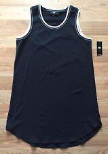 NWT Women's ABS ALLEN SCHWARTZ Black Sleeveless Dress Size Medium M