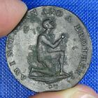 Middlesex,  Anti - Slavery Conder Halfpenny c1795. Am I Not a Man and a Brother