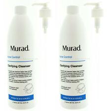 (2 Pack) Murad Acne Clarifying Cleanser Pro Size 16.9 fl oz / 500 mL EXP 04/2021