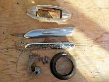 1950 Hudson striker plate fender molding dome light base misc