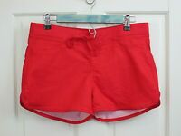 NOBO Juniors Size L 11-13 Waist 33 Red Casual Pull On Shorts Stretch 105-18685