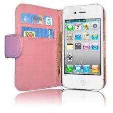 Cadorabo! IPhone 4 4S Tasche Etui Flip Case Schutzhülle Hülle pink rosa