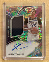 2019-20 Spectra Jarrett Culver RPA Rookie Jersey Auto Celestial /99 RC SSP !!