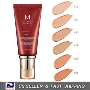 MISSHA M Perfect Cover BB Cream No.13/ 21/ 23/ 27/ 29 / 31 50ml