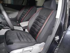 Schonbezüge Sitzbezüge Komplett für Opel Corsa NO414815 schwarz-rot
