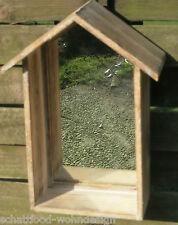 Espejo de Pared Estantería Casa colgante dekohaus Estante madera M
