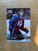 Chris Bigras 16-17 Upper Deck Series One Young Guns Rookie #245 Avalanche