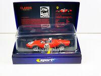 Slot car Scalextric Superslot H2703A Ferrari 156 F1 #50 1961 Giancarlo Baghetti