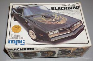 Pontiac Trans Am Blackbird MPC 1/25 Complete & Unstarted.