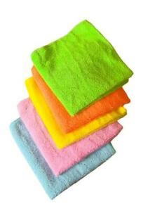 Microfibre Dish Kitchen Cleaning Cloths Tea Towels Cloth Pack Absorbent Pk4/pk5