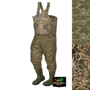 NEW BANDED GEAR REDZONE RZ-X 1.5 TWO TONE BREATHABLE INSULATED CAMO CHEST WADERS