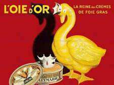 ADVERT FOOD FOIE GRAS GOOSE FAT LIVER PATE FRANCE ART PRINT POSTERBB7913B