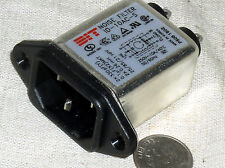 NEW ID-10AC-S Power Input Entry Module Line Noise Filter 10A 250V AC 250VAC PWR