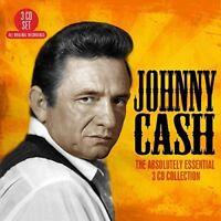 JOHNNY CASH - ABSOLUTELY ESSENTIAL 3 CD (BOX-SET) NEU
