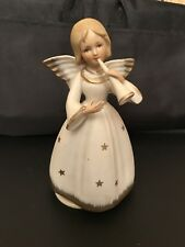 Schmid Angel Figurine Music Box Made In Japan