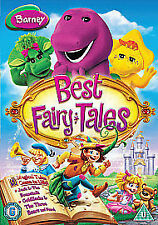 Barney - Best Fairy Tales (DVD, 2011)