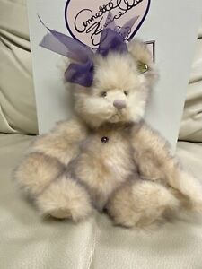 Vintage 1992  Amethyst Annette Funicello Mohair Sweetheart Gem Collection