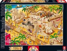 EDUCA JIGSAW PUZZLE STORIES OF THE HISTORY ANCIENT EGYPT 1000 PCS CARTOON #16345