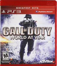 Call of Duty: World at War PS3 New Playstation 3