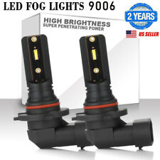 9006 HB3 9012 LED Fog Light Bulbs Car Driving Lamp DRL Headlight Kit High Power