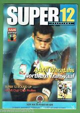 #EE. WARATAHS V NORTHERN TRANSVAAL  RUGBY UNION PROGRAM  6/4/1997, SUPER 12