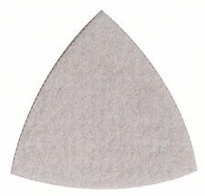BOSCH fibre abrasive pour ponceuse triangle, 93 mm, sans grain