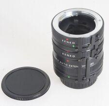 Kenko Zwischenringsatz 12mm, 20mm, 36mm (Minolta MD-Bajonett)