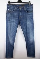 Tiger of Sweden Pistorelo Men Jeans Blue Stretch Relaxed Slim Fit size W31 L34