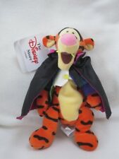 "Count Tigger 9"" Disney Store Winnie Pooh Soft Toy Beanie New With Tag"