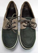 LANVIN (Paris) Boat Deck Shoes Leather & Suede M's 11