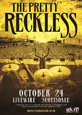 The Pretty Reckless 2016 Phoenix Concert Tour Poster - Taylor & Band In Concert