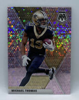 MICHAEL THOMAS 2020 Panini Mosaic No Huddle PINK PRIZM DISCO #4/20 Panini Saints