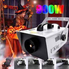 900W Nebelmaschine DJ Party Fog Rauchmaschine Fogger Nebelgerät Halloween Remote
