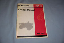 Honda ATC 1984 1985 1986 ATV ATC200S ATC 200 S Service Shop Repair Manual