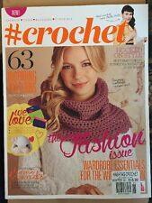 # hashtag Crochet Inspiring Patterns Fashion Trends Winter 2014 FREE SHIPPING