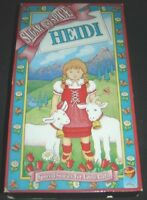 Sugar and Spice Series Heidi VHS 1991 Video Treasures Special Stories For Girls