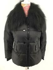 Women Ladies New Short Warm Padded FAUX FUR Collar Puffer Coat/Jacket 7030 6-14