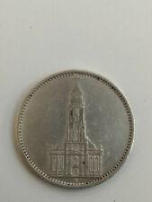 Münze 5 Reichsmark Garnisonskirche von 1935 A Silber