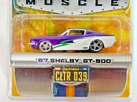 Jada Toys Dub City Bigtime Muscle '67 Shelby GT-500  CLTR039 Purple/White