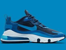 ⚫ 2020 Nike Air Max 270 React ® ( Men Size UK 7.5 EUR 42) Blue Void / Photo Blue