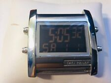 Tag Heuer Microtimer Stainless Steel Rubber Quartz Mens Watch