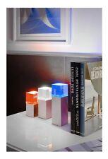 LED Tischlampen 3er SET Eckig LED Farbwechsler Buntes Licht Farbfilter Jorg