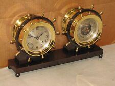 CHELSEA VINTAGE SHIPS BELL CLOCK/BAROMETER~CLAREMONT MODEL~1955~RESTORED