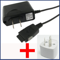 NEW AC WALL TRAVEL CHARGER FOR LG TU500 TU550 + AUSTRALIAN ADAPTER PLUG