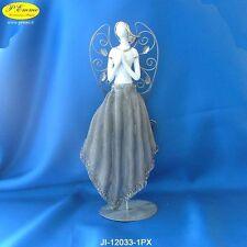 ANGELO IN PORCELLANA CON ASTUCCIO LUSSO IDEALE PER BOMBONIERE 12033-1PX