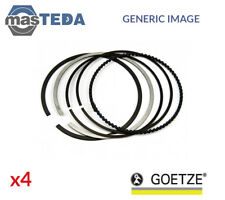 4x NEW ENGINE PISTON RING SET GOETZE 08-114907-00 OVERSIZE 0.5MM OE REPLACEMENT