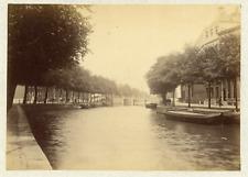 Hollande, Nederland, Amsterdam, vue sur l'intérieur de la ville et les cana