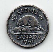 Canada - 5 Cent 1951